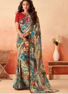 Multi Colour Saree