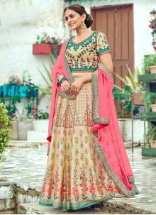 Multi Colour Trendy Lehenga Choli