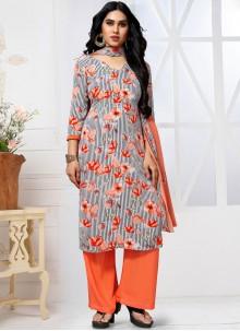 Multi Colour Trendy Pakistani Salwar Suit