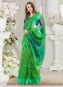 Multi Colour Weaving Silk Casual Saree