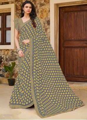 Multi Colour Weight Less Traditional Saree