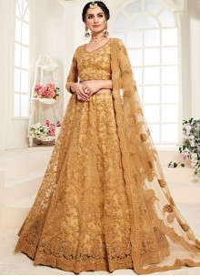 Mustard Color Trendy Lehenga Choli