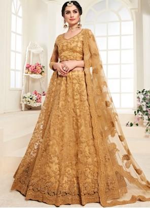 Mustard Color Trendy Lehenga Choli