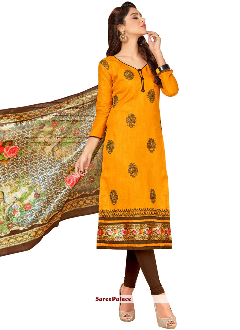 a7b27e7a67 Buy Mystic Yellow Salwar Suit Online