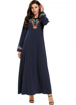 Navy Blue Color Salwar Suit