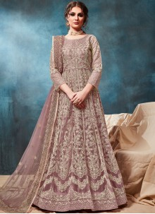 Net Anarkali Salwar Suit