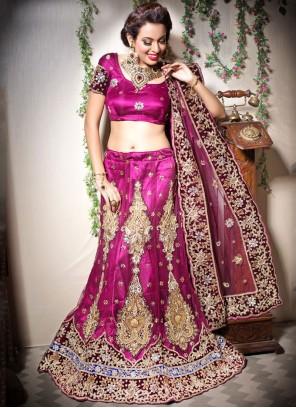 Net Bridal Designer Lehenga Choli