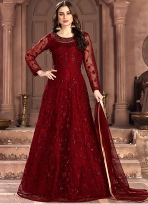 Net Reception Salwar Kameez