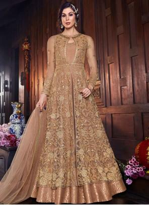 Net Wedding Floor Length Anarkali Suit