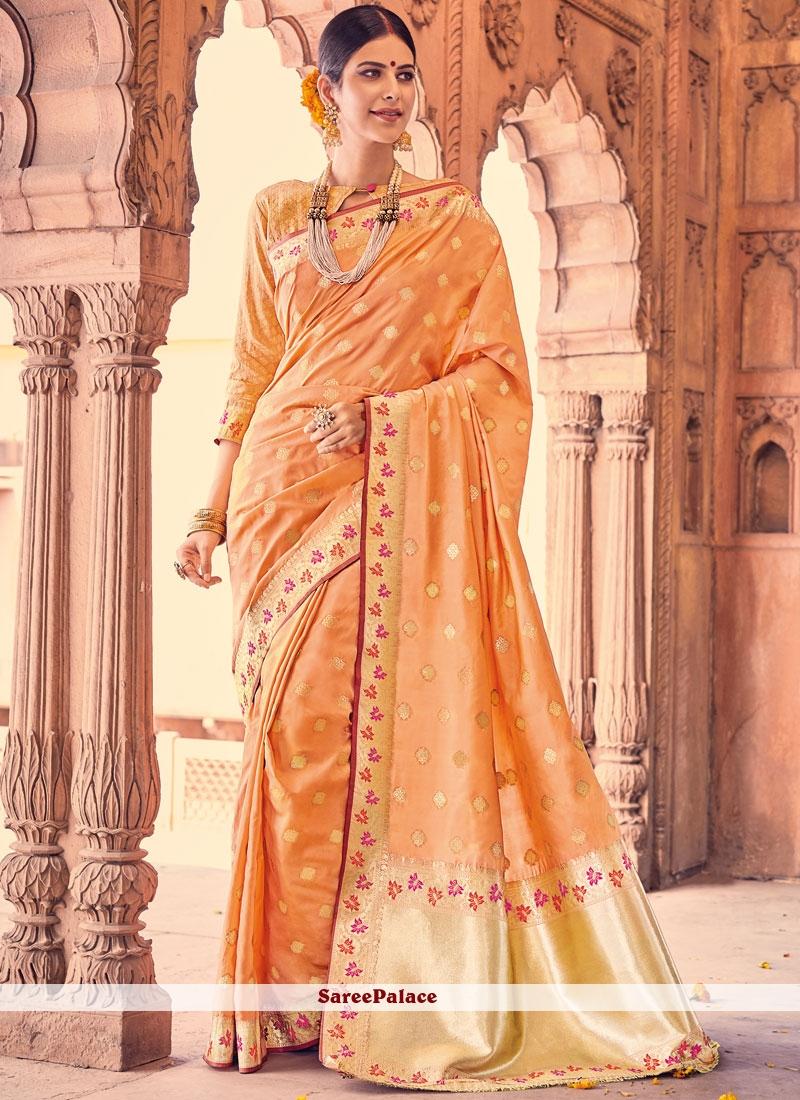 Noble Weaving Work Traditional Designer Saree