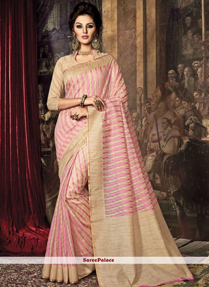 Outstanding Weaving Work Traditional  Saree