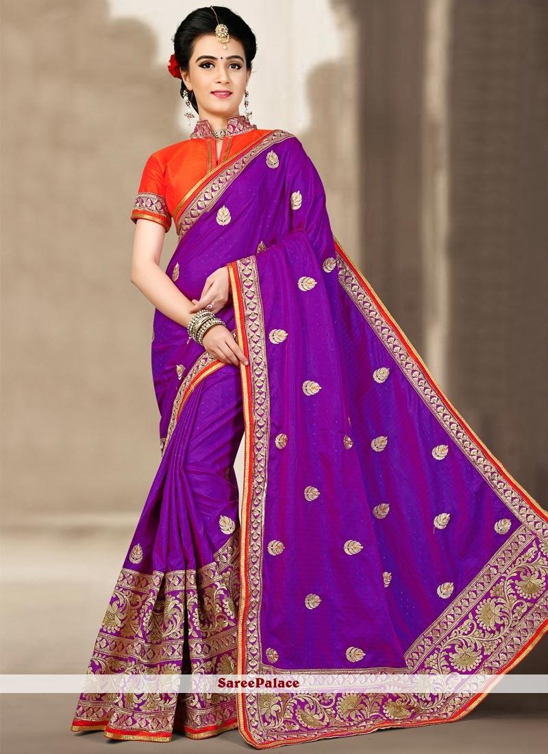 Paramount Zari Work Designer Traditional Saree