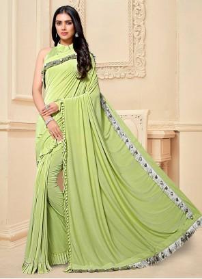 Patch Border Classic Designer Saree