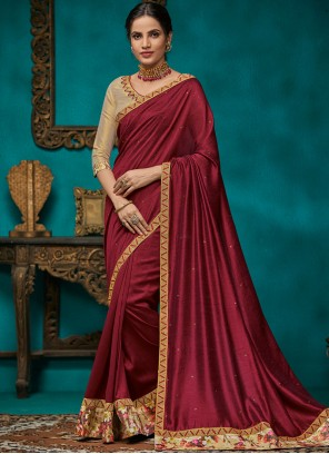 Patch Border Festival Traditional Saree