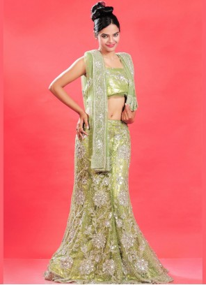 Patch Border Lehenga Choli