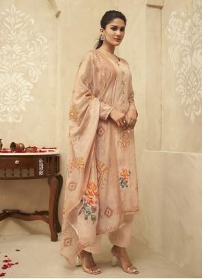 Peach Festival Designer Palazzo Suit