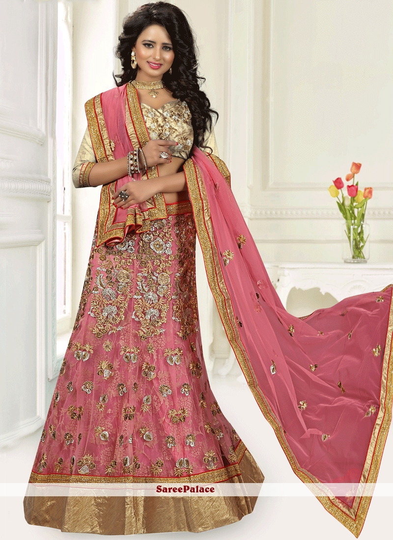 8bfd7a6417 Buy Peppy Embroidered Work Lehenga Choli Online