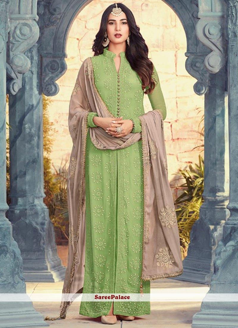 Perfervid Green Salwar Suit