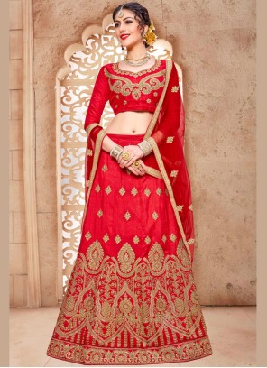 Phenomenal Embroidered Work Lehenga Choli