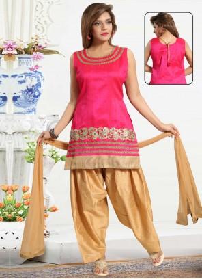 Picasso Rani Punjabi Suit