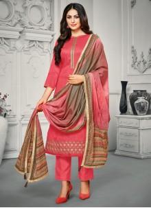 Pink Casual Bollywood Salwar Kameez