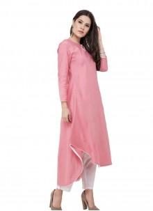 Pink Ceremonial Designer Kurti