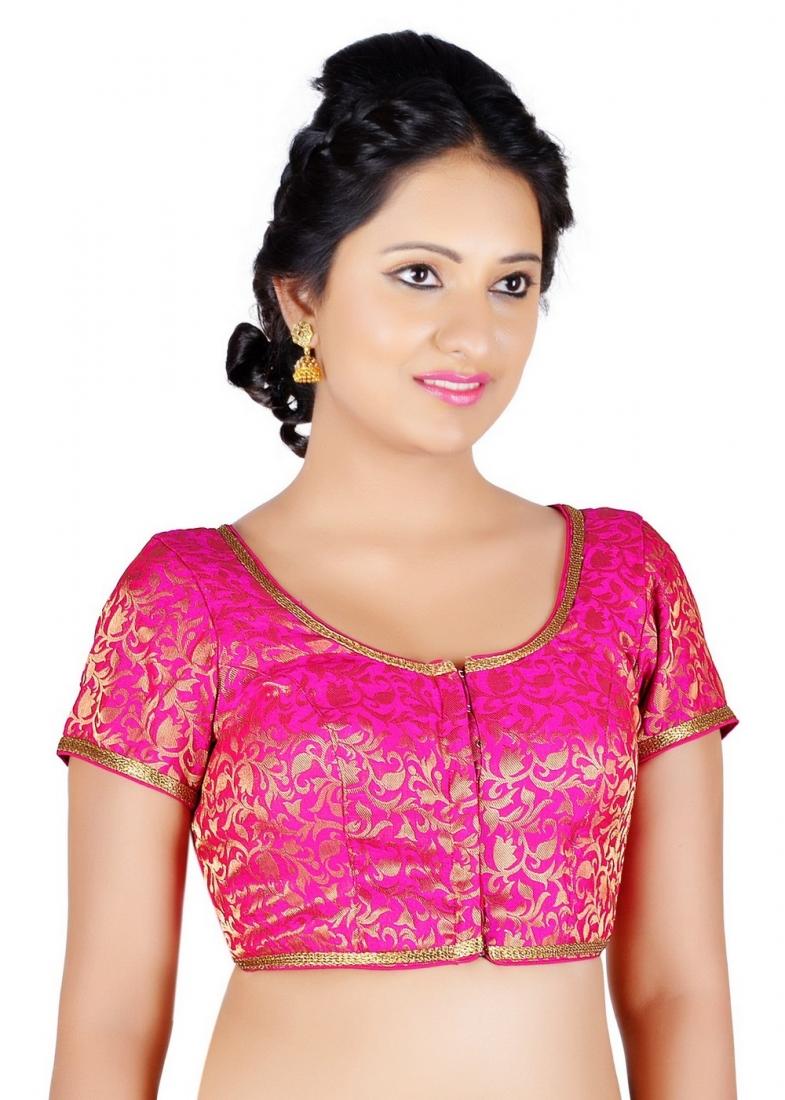 Pink Color Designer Blouse