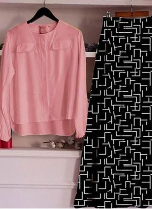 Pink Digital Print Trendy Lehenga Choli