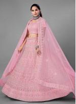 Pink Dori Work Engagement Lehenga Choli