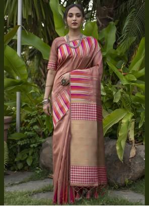 Pink Fancy Designer Traditional Saree