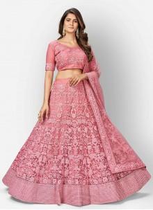 Pink Fancy Lehenga Choli