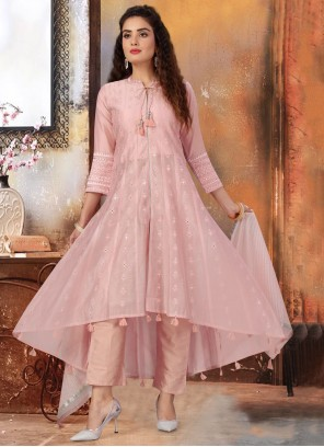 Pink Fancy Readymade Suit