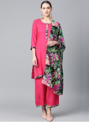 Pink Festival Bollywood Salwar Kameez