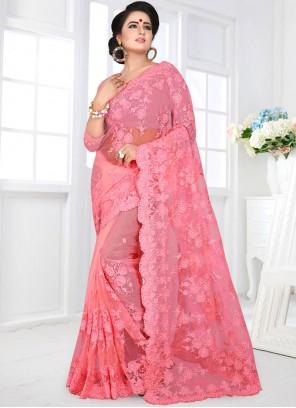 Pink Festival Classic Designer Saree