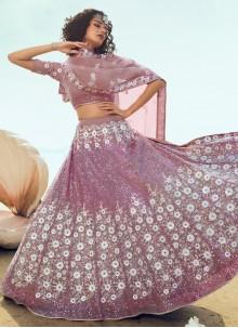 Pink Festival Trendy Lehenga Choli