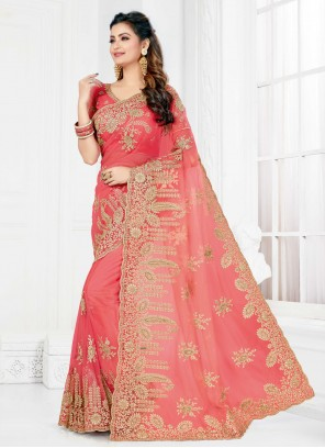 Pink Party Classic Designer Saree