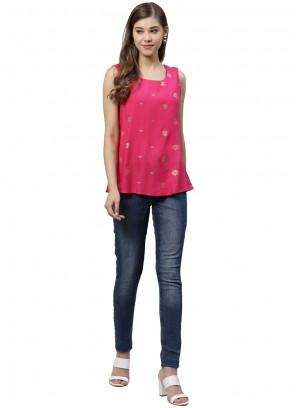 Pink Party Designer Kurti