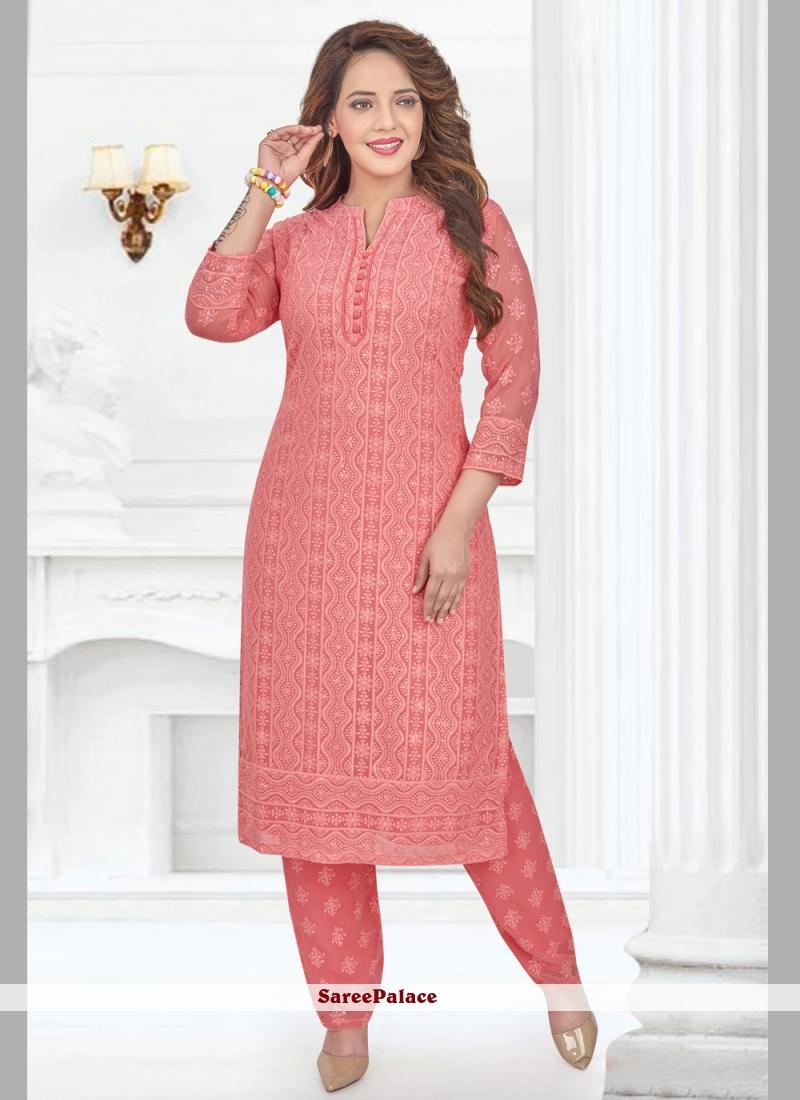 Pink Party Pakistani Salwar Suit