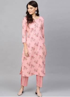 Pink Party Salwar Suit