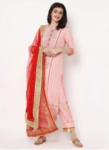 Pink Party Trendy Salwar Kameez