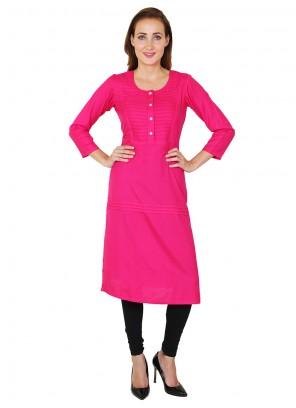 Pink Rayon Salwar Kameez