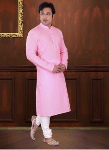 Pink Reception Kurta Pyjama