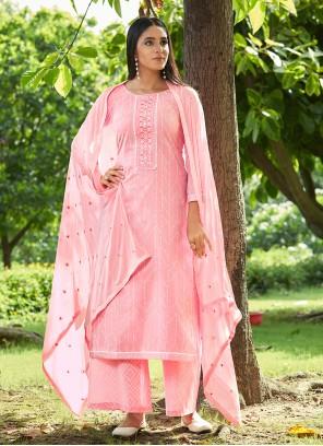 Pink Sequins Party Designer Pakistani Suit