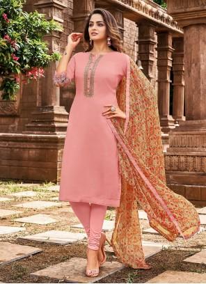 Pink Thread Festival Designer Salwar Kameez