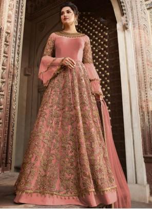 Pink Wedding Anarkali Salwar Kameez