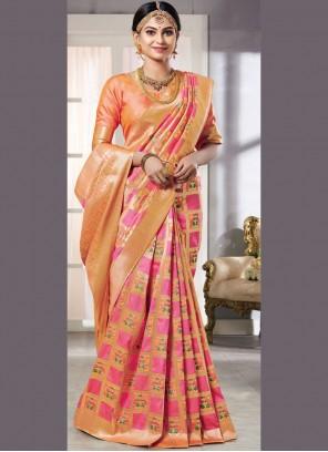 Pink Wedding Classic Saree