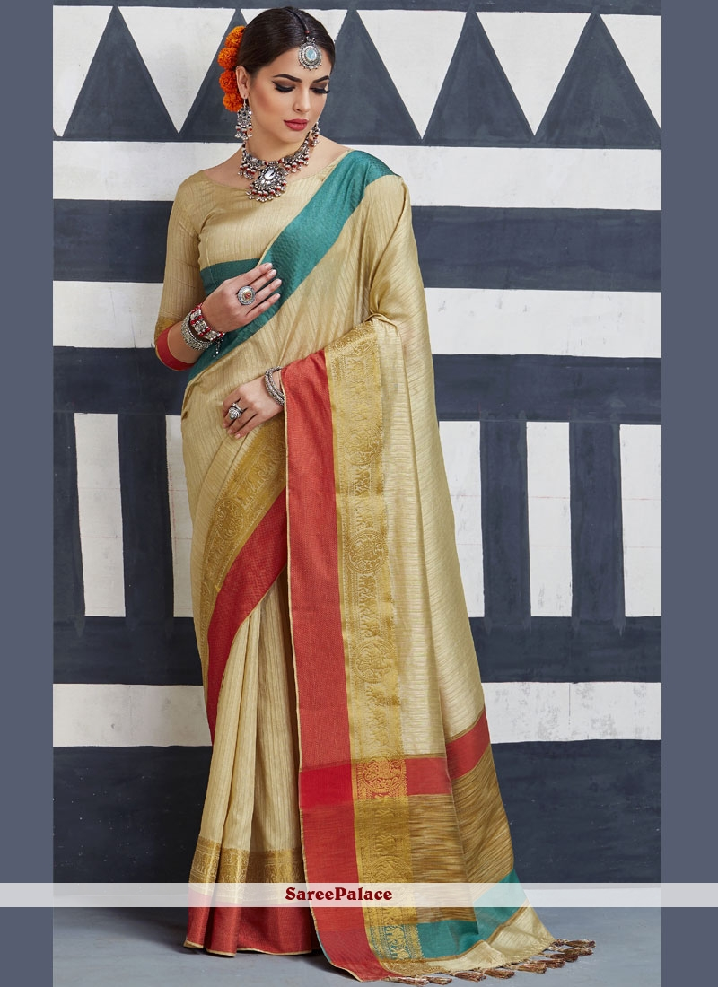 6cd57aa40c683 Buy Piquant Tussar Silk woven Work Traditional Designer Saree Online