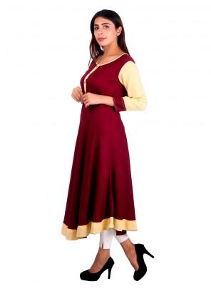 Plain Sangeet Designer Kurti