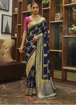 Poly Silk Weaving Designer Traditional Saree