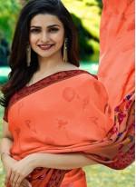 Prachi Desai Classical Multi Colour Printed Saree